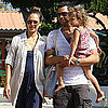 Pictures of Jessica Alba Pregnant With Cash and Honor in Malibu