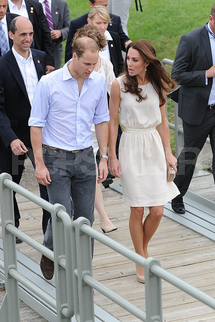 Prince William and Kate Middleton went casual on July 3.