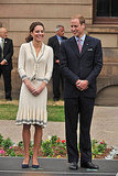 Kate Middleton and Prince William looked classy.