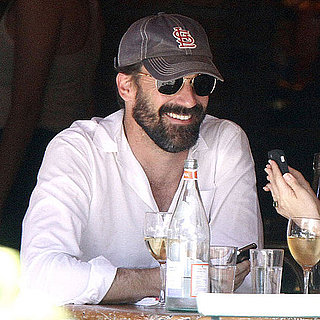 Jon Hamm and Jennifer Westfeldt Lunch in NYC Pictures