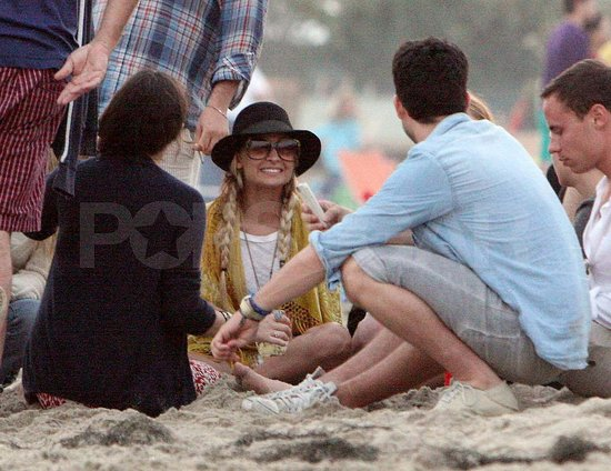Nicole Richie Celebrates Fourth of July in the Sand With Friends and Family