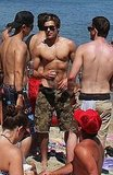 Zac Efron shirtless in Malibu.
