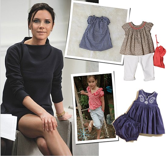Victoria Beckham Is Inspired by Traditional French Kids' Clothes