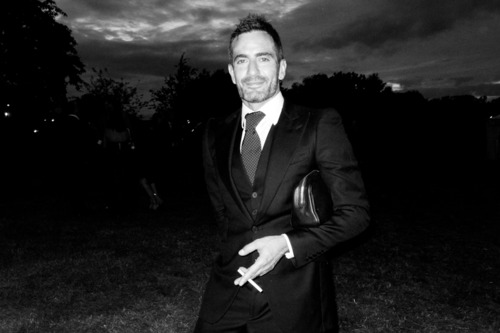 Marc Jacobs at Kate Moss's wedding.
