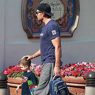Tom Brady With Jack and Practicing During Lockout Pictures
