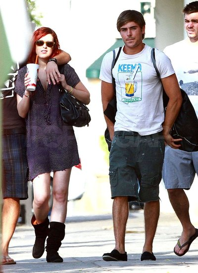 Zac Efron Shops Urban Outfitters With Friends Like Rumer Willis