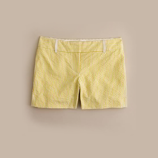 J. Crew Seersucker Shorts, $60    Pair with: