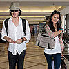Nina Dobrev and Ian Somerhalder Pictures at LAX