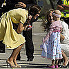 Pictures of Kate Middleton and Prince William Arriving in Calgary