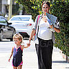 Pregnant Jessica Alba and Honor Warren Out Together in LA