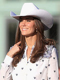 Kate Middleton's rodeo shirt was adorned with hearts.