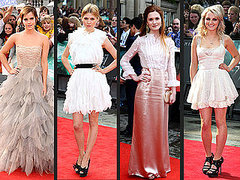 Who Made Fashion Magic at the London Harry Potter Premiere?