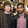 Jesse Eisenberg and Aziz Ansari Work at Goat Hill Pizza in SF