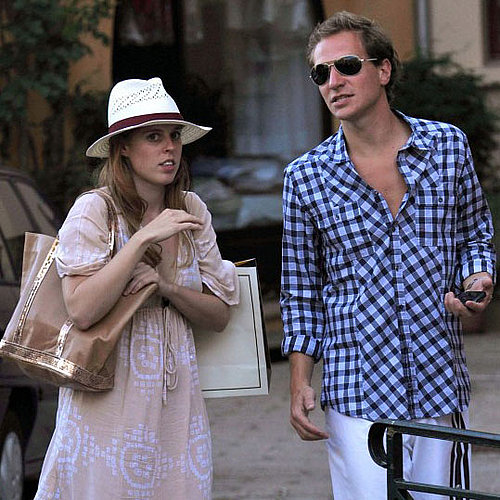 Princess Beatrice and Boyfriend Dave Clark in St. Tropez