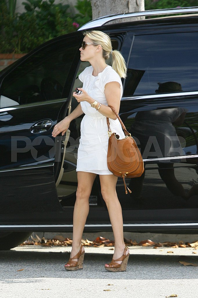 Well-Paid and Tattooed Reese Witherspoon Hits Up Neimans