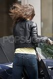 Pippa Middleton's jeans showed off her assets.