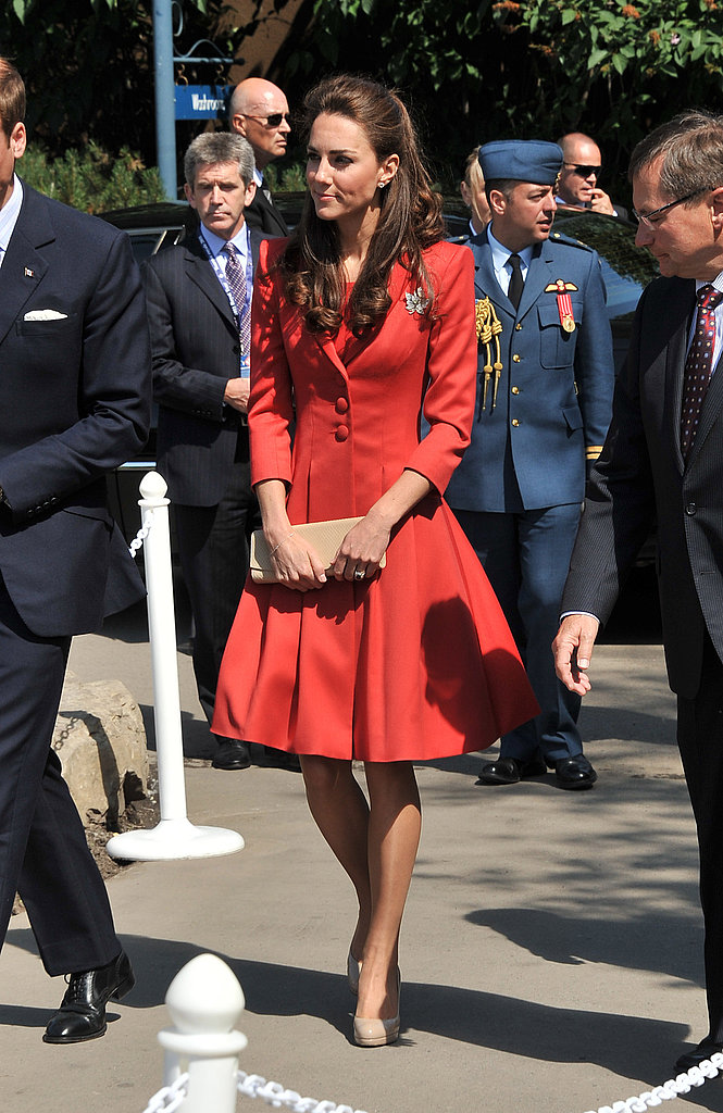 Kate Middleton got ready to board a flight to LA.