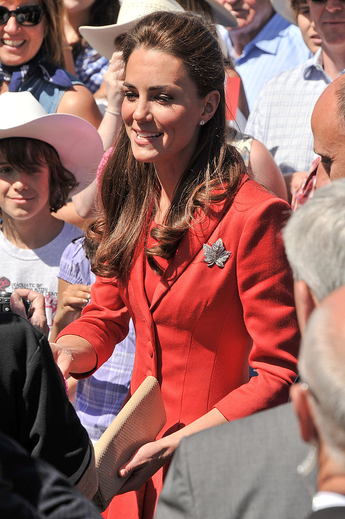 Kate Middleton bid adieu to Canada.
