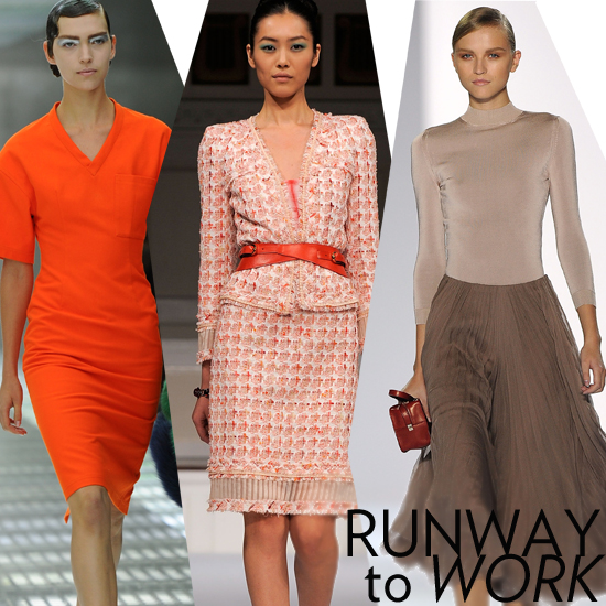 Runway Inspiration: How to Punch Up Your Work Outfits