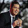 Michael Buble in Napa With Jason Priestley