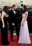 Prince William and Kate Middleton on the BAFTA Brits to Watch red carpet in LA.