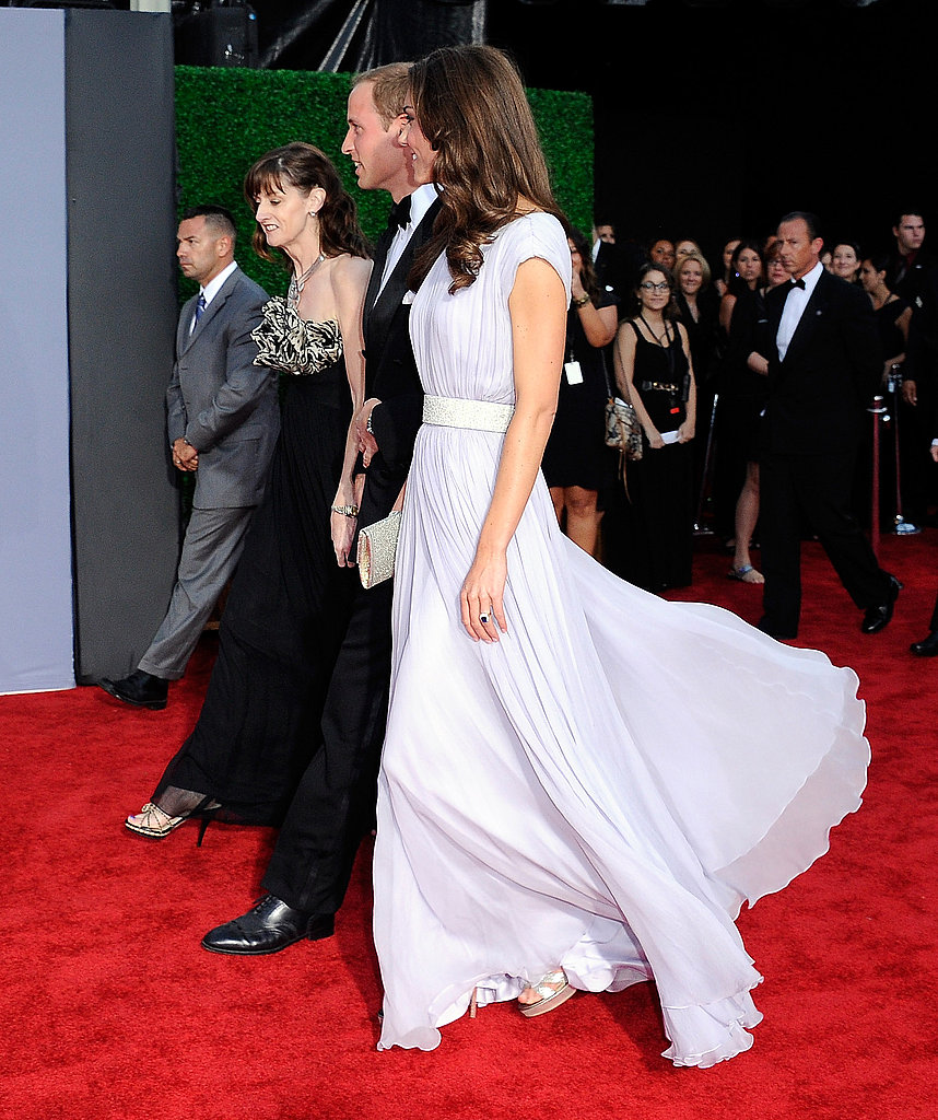 Prince William and Kate Middleton at BAFTA event in LA.