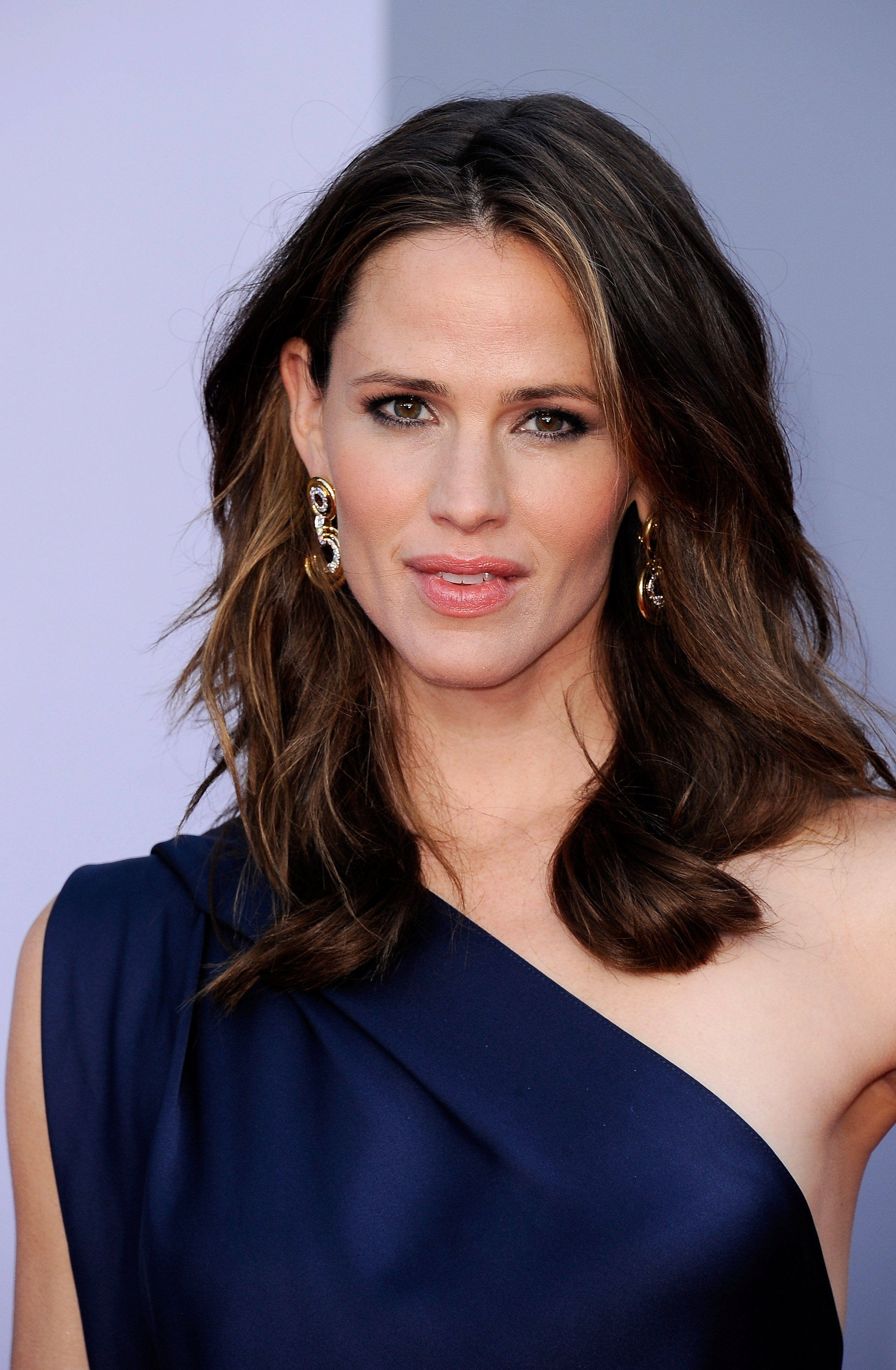 Jennifer Garner in blue at the BAFTA Brits to Watch event in LA.