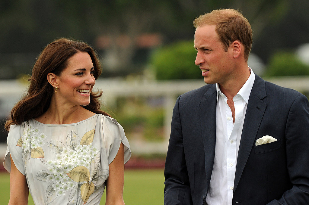 Kate Middleton and Prince William spent their first full day together in the United States.
