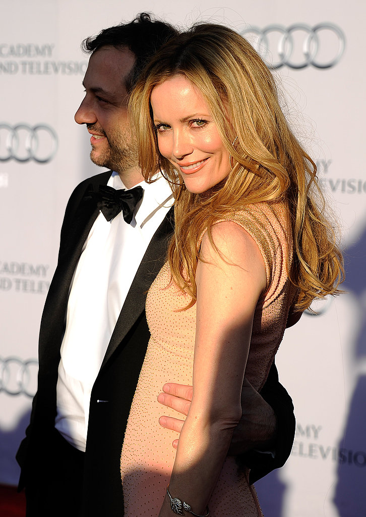 Judd Apatow and Leslie Mann at the BAFTA Brits to Watch event in LA.