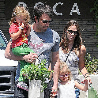 Jennifer Garner and Ben Affleck With Violet and Seraphina