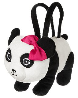 Gymboree Panda Plush Purse
