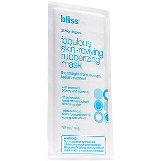 Bliss Spa Rubberizing Face Mask Review