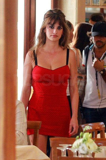 Penelope Cruz Models Lingerie For Her Latest Woody Allen Role