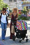 Rachel Zoe was joined by Skyler's nanny for a walk through Malibu.