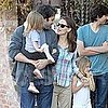 Jennifer Garner and Ben Affleck Pictures With Daughters Violet and Seraphina