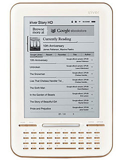 Target to Sell Google eBook Reader iriver Story HD