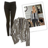 How to Wear Metallics