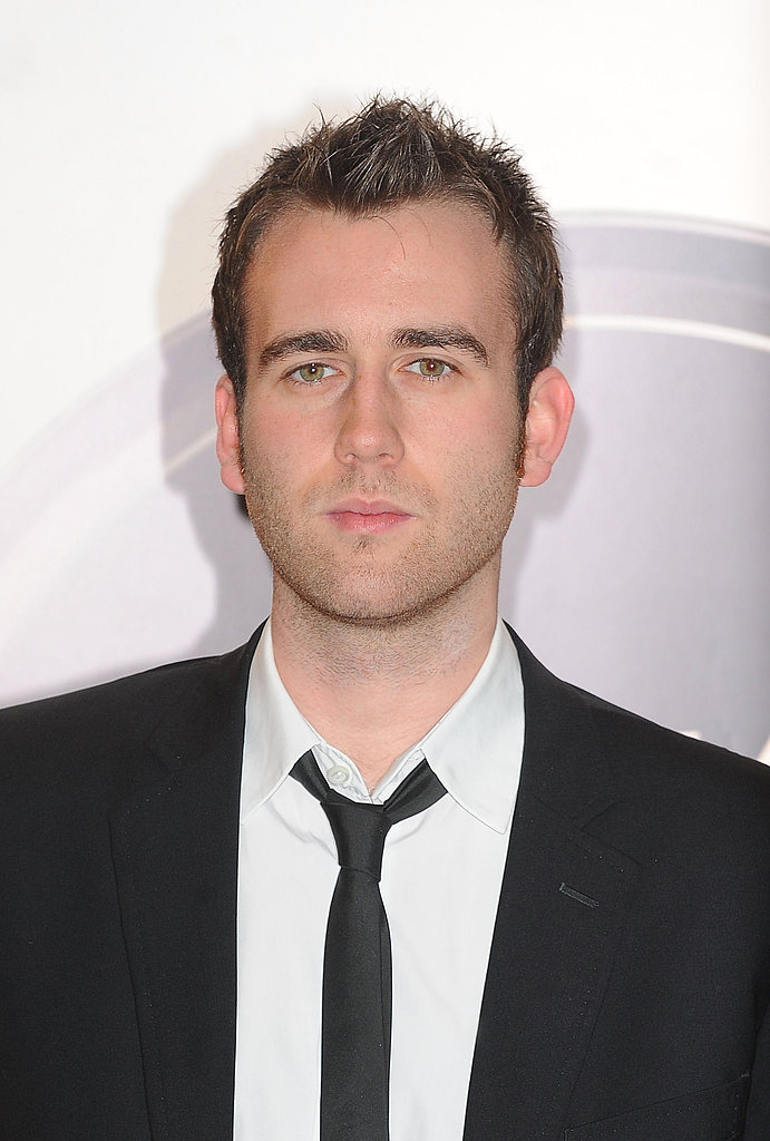 Suited and serious, Matthew Lewis attends the EA British Academy Children's Awards in 2010.