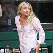 Mary-Kate Olsen Pictures Tan and Smoking in NYC