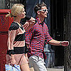 Josh Hartnett and Sophia Lie in NYC