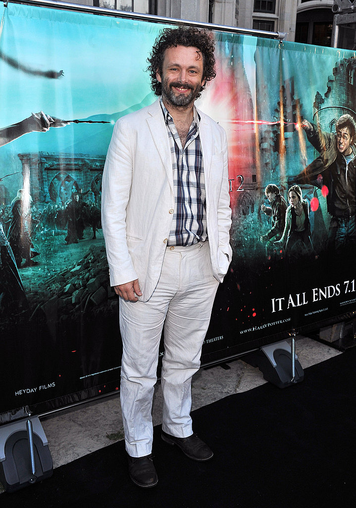 Michael Sheen at the Toronto premiere of Harry Potter.