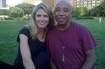 Heidi Klum and Russell Simmons