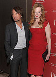 Keith Urban and Nicole Kidman see Snow Flower And The Secret Fan.