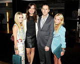 Ashley Olsen, Daniella Vitale, Mark Lee, and Mary-Kate Olsen at The Row's handbag launch.