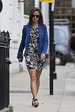 Pippa Middleton Breaks Out a Familiar Blue Blazer Following Her Work Day