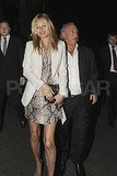 Kate Moss thanks Philip Green for using his yacht on her honeymoon.