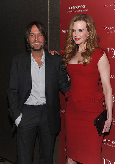 Nicole Kidman and Keith Urban at a Cinema Society screening.