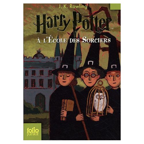 French Harry Potter and the Sorcerer's Stone