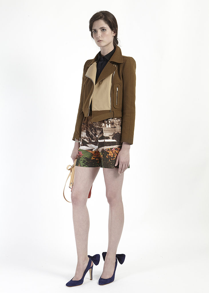 Alpine Landscapes Inspire Guillaume Henry's Resort 2012 Collection For Carven