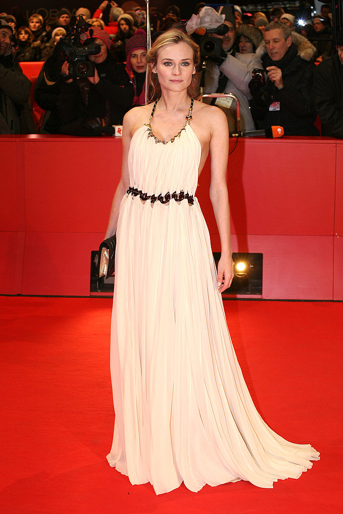 She proved goddess-like in a Vionnet halter gown at the 2011 Berlin Film Festival.